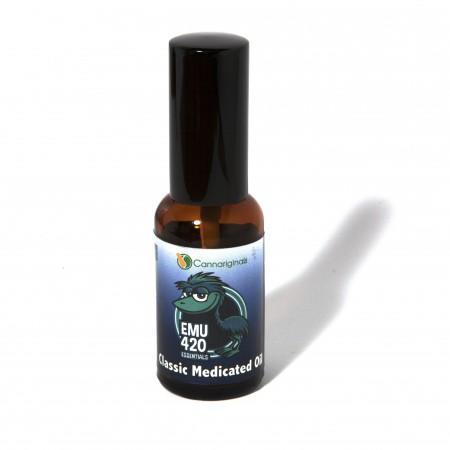 Classic Medicated Oil 20mg CBD by Emu 420