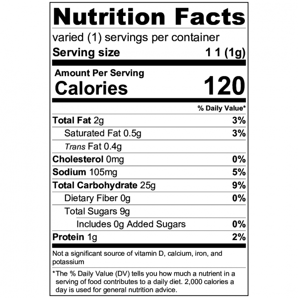 2x $75 -- 1000mg Cinnamon Toast Crunch Cereal Bar by Enterprize Edibles