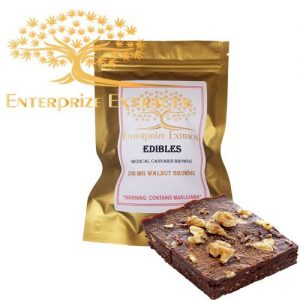 3x/$50 -- 500mg Walnut Brownie by Enterprize Edibles