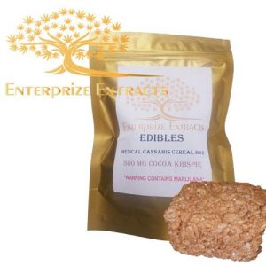***2x $75 SALE*** 1000mg Cocoa Krispy Treats by Enterprize Edibles