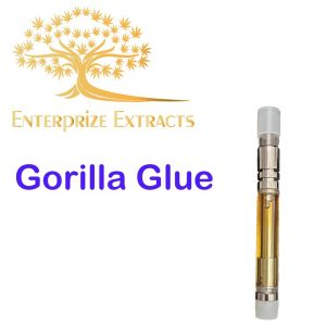 Gorilla Glue Vape Cartridge by Enterprize Extracts