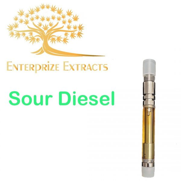 Sour Diesel Vape Cartridge by Enterprize Extracts