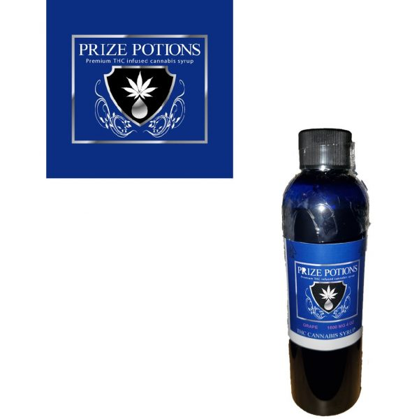 GRAPE - THC Infused Cannabis Syrup by Prize Potions
