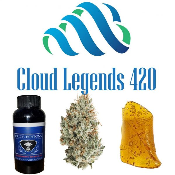$150 Bundle -- 1/4 of Flower, 1 grams of Wax or Crumble, & 3200mg THC Syrup -- $25 Savings