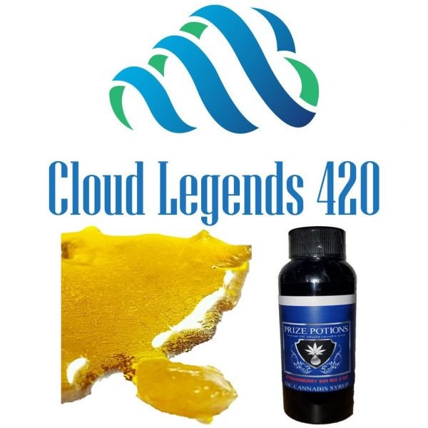 $50 Wax & Syrup Bundle -- 1 gram of Shatter or Crumble and 800 mg THC Syrup