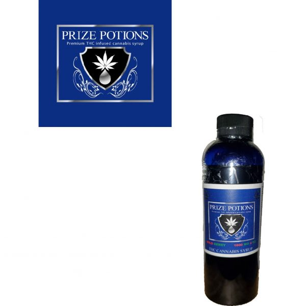 WILD BERRY - THC INFUSED CANNABIS SYRUP BY PRIZE POTIONS